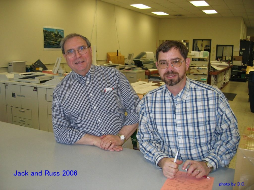 Jack Callahan and Russ Yearick, 2006